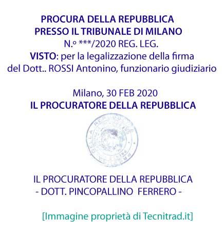 Legalizzazione Documenti Dove Farla Tecnitrad It